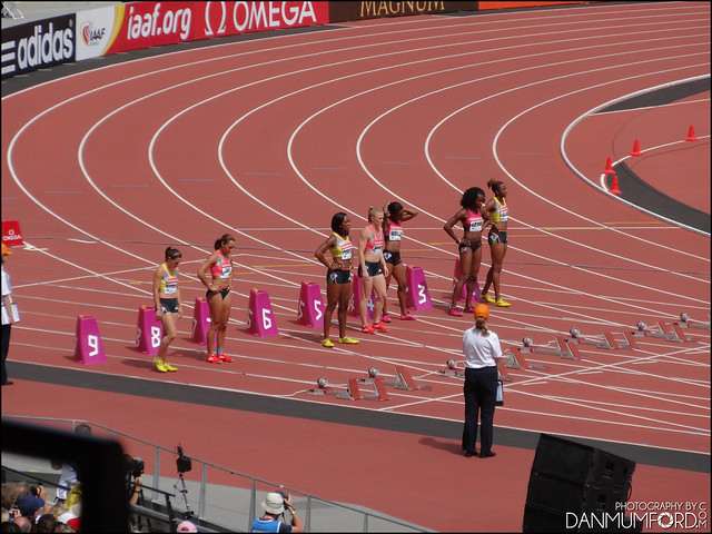 Jessica Ennis-Hill and Tiffany Porter