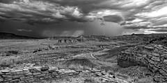 Cabezon Wilderness Area (Mitch Tillison Photography) Tags: sky storm newmexico southwest monochrome weather landscape blackwhite dramatic mesa volcanicplug tamron2875mm shyscape riopuercovalley pentaxk5 mitchtillison cabezonwildernessarea mitchtillisonphotography