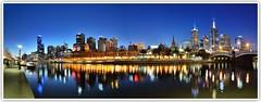Flinders Street Station & Yarra River, Melbourne (Vin PSK) Tags: australia melbourne yarrariver flindersstation