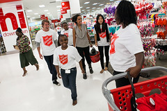 Target School Spree 2013 (Salvation Army USA West) Tags: kids shopping children corporate kid child target shoppingspree