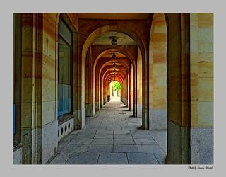Arkaden in Dresden HDR