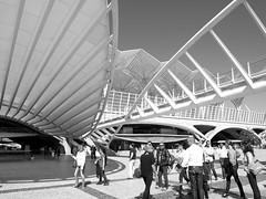 Estación Oriente de Lisboa (Zarawitta) Tags: arquitectura lisboa lisbon calatrava moderna arquitecture estaciondeoriente