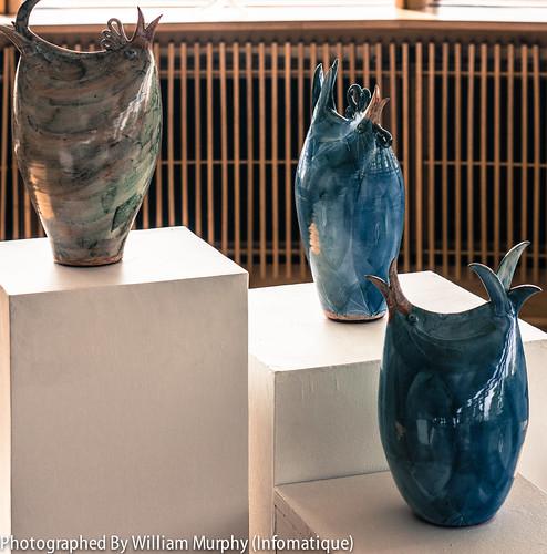 Bird Form #1, 2, 3 By Caroline Dolan - Sculpture In Context 2013