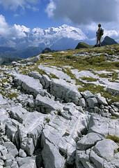 Massif du Mont-Blanc, désert de Platé (Ytierny) Tags: panorama france montagne alpes altitude grandes flaine montblanc alpinisme désert massif hautesavoie calcaire platé lapiaz platières ytierny