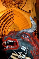 Imposing beast (Joan Carles Photography) Tags: fire nikon cathedral fireworks smoke catalonia beast catalunya beasts tarragona firecracker correfoc santatecla nikond3200 d3200