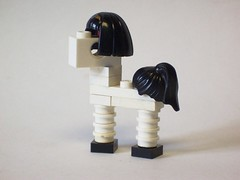 White Flag, my little phonies (monsterbrick) Tags: horse lego little pony moc