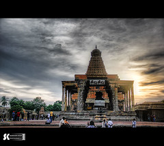 "Thanjavur Big Temple - HDR • <a style=""font-size:0.8em;"" href=""http://www.flickr.com/photos/86056586@N00/10332310223/"" target=""_blank"">View on Flickr</a>"
