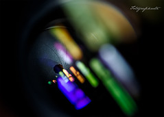 Wormhole of creation (Motographer) Tags: abstract macro colors lens aperture colorful 100mm tokina motographer fotografikartz motograffer