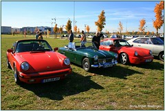 framed red (ute.mueller) Tags: red oktober 1969 stuttgart framed 911 mg bblingen porsche midget sir region mortimer morty meilenwerk 2013 saisonausklang