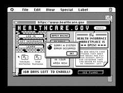 HealthCare.gov on HyperCard