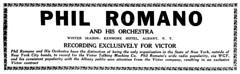 phil romano dec 1925 albany ny (albany group archive) Tags: albany ny phil romano orchestra rca victor wgy oldalbany history 1920s old photos photographs historic histroical