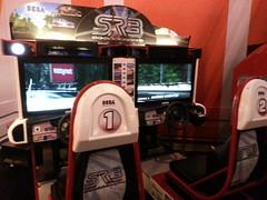 Deux bornes d'arcade Sega Rally 3 (Dacobah) Tags: arcade sega borne bornes latetedanslesnuages