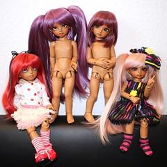 Group Shot (*Lil Spark*) Tags: lucy 26 sophie tan le olga tasha momocolor