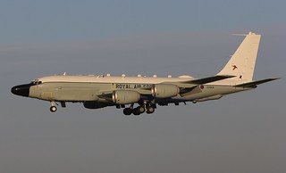 ZZ664 BOEING RC-135W  RIVET JOINT  RAF