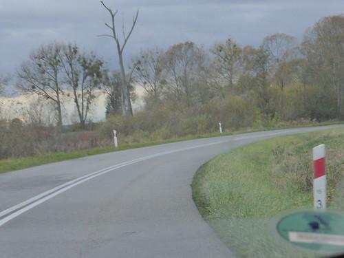 On the road from Kościerzyna to świnoujście Road trip Unterwegs von Berent nach Swinemünde Fahrt