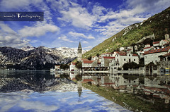 mirror mirror.. (PNike (Prashanth Naik..back after ages)) Tags: blue sky water clouds nikon europe montenegro d7000 pnike prashanthnaik