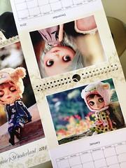 Annie's Wonderland 2014 Calendar