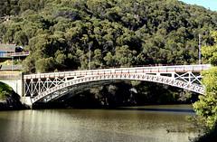 Kings Bridge (Old Family Images) Tags: arch sony kingsbridge alpha dslr 1904 launceston pontoon 1864 a55 aplha civilengineer 12000 february1864 a55v westtamar wroughtironarch williamthomasdoyne duplicatespan salisburysfoundry spanning190feet