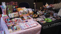 Clutter City Stall (Winter) #1 (Capt. arkaya) Tags: cute table layout craft stall fair kawaii curious steampunk arkaya