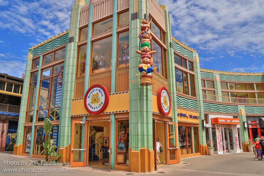 Build A Bear Downtown Disney