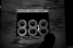 888 (Albin Lohr-Jones) Tags: blackandwhite sculpture 6 silhouette stone night typography corporate sony carving soviet granite 888 manualfocus address industar 502 nex 50mmf35 mirrorless adaptedlens