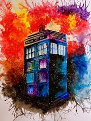 Tardis (Scarlet_Lily) Tags: who doctor bbc tardis