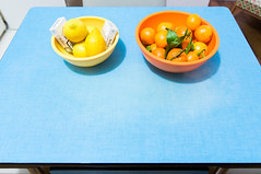 Kitchen: 5 A DAY! (Bourguiboeuf) Tags: 3 paris kitchen fruit canon vintage table bathroom design living flat mark cigarette room bleu tabac marlboro 5d dslr appartement parisian meuble formica mkiii clope bourguiboeuf