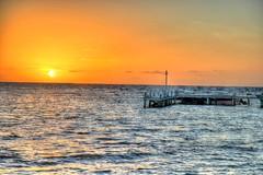 HDR - 430paint (mastrfshrmn) Tags: ocean sea panorama sun moon beach water colors canon stars island photo sand scenery paradise belize picture palmtrees hut photograph cabana tropical hdr kayaks centralamerica atoll 70d turneffeisland turneffeatoll blackbirdcaye