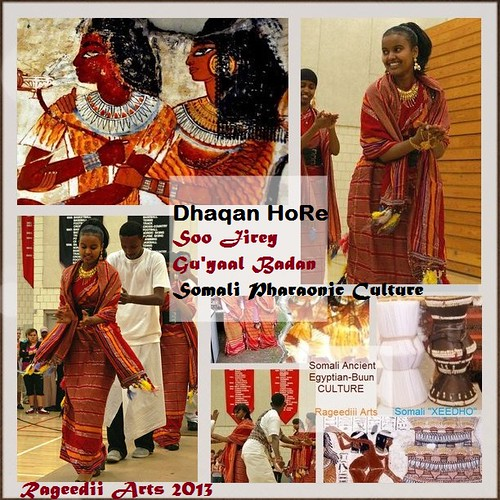 Dhaanto 'Thaanto' Somali Pharaonic Folk Dance