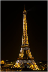 Tour Eiffel (Loxlo) Tags: paris france tower night tour eiffel nuit potd:country=fr
