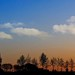 Sundown in March