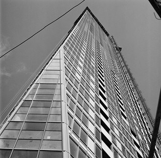 the L Tower, south west view, Toronto