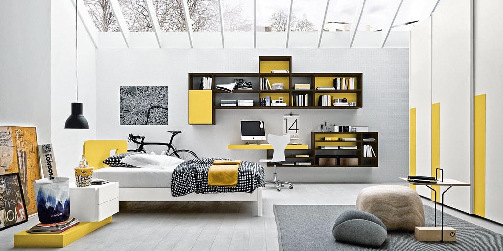 Yellow and dark oak (Armando Ferriani - Architetto - Furniture ...