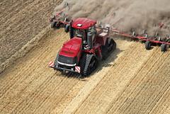 Case IH Quadtrac 600 with cultivator (Case IH Europe) Tags: tractor photo farm air farming tracks case 600 agriculture cultivation ih caseih quadtrac