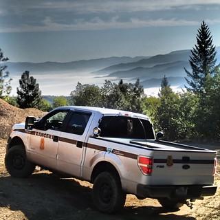 Ranger Truck at Kane Creek, Oregon