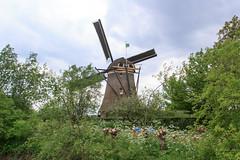 Poldermolen Waardenburg (RunningRalph) Tags: mill nature windmill nederland molen gelderland waardenburg tbroek
