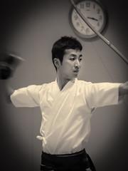 Kyud, passage de dan 2014 - 02 (Stphane Barbery) Tags: dan japan kyoto arc   japon tir kyud miyakomesse