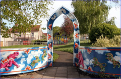 Grand Playground Entrance (Canis Major) Tags: playground bristol colours entrance easton bellevueroad