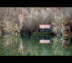 Capanna sul lago (Mauro 70) Tags: alberi canon lago eos liguria ngc natura 7d costruzione paesaggio nationalgeographic diga capanna artificiale naturephotographers natureshotsphotography naturewildlifephotographerscorner nginationalgeographicbyitalianpeople bestcapturesaoi
