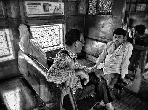 In Mumbai Local Train