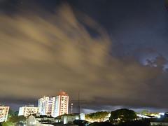 (IgorCamacho) Tags: city longexposure cidade summer brazil sky storm nature brasil night clouds buildings raios natureza cu southern cielo nubes tormenta nuvens noite vero luzes lightning sul temporal prdios longaexposio severeweather cumulonimbus tempestade relmpagos