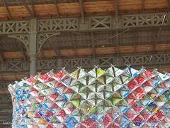Artists at work (katrienberckmoes) Tags: park city brick art belgium antwerp spoor noord