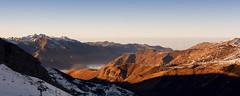 Gourette (lioneltinchant) Tags: mer mist snow france mountains montagne de soleil ngc coucher nuage brume pyrnes gourette