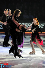 Naomi Lang & Peter Tchernyshev with Marina Anissina