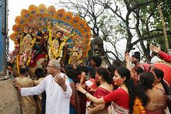 Devi leaves for Kailash (pathikdebmallik) Tags: ladies debs ganesha worship goddess shiva kailash mythology saraswati durga vermillion durgapuja devi hindudeity kartick sovabazar patriarc immersionceremony familyhead laxhmi