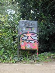 Blind-Ghost. (universaldilletant) Tags: streetart graffiti frankfurt spot ghosts cityghost cityghosts