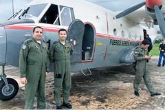 Vuelo Militar al Pantanal Paraguayo (uchita.linda) Tags: travel southamerica airport uniform flight militar paraguay chaco aeropuerto pantanal avion sudamerica vuelo avioneta volar