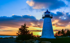 Ned's point lighthouse, Mattapoisett 2013 049 (jlucierphoto) Tags: ocean new sunset sea england lighthouse coast nikon massachusetts rocky cape beacons cod beacon nedspointlighthouse nedspointlighthousemattapoisett2013 mattapoisett2013