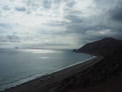 Point Mugu Coastline (Grazerin/Dorli B.) Tags: ocean sky birds clouds landscape outdoors coast pch elements southerncalifornia venturacounty pointmugu