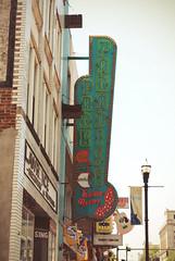 On Broadway (nicholeotter) Tags: park city music sign metal bulb vintage nashville tennessee broadway